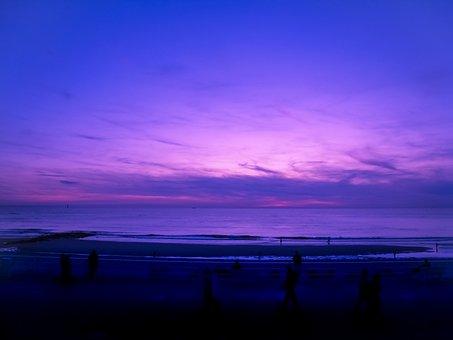 Sylt, Beach, North Sea, Summer, Sea, Clouds, Holiday