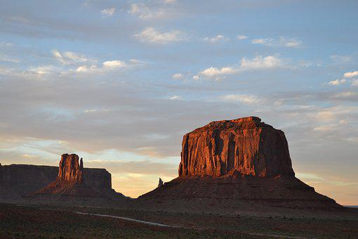 Monument, Valley, Usa, Monument Valley, Utah, West