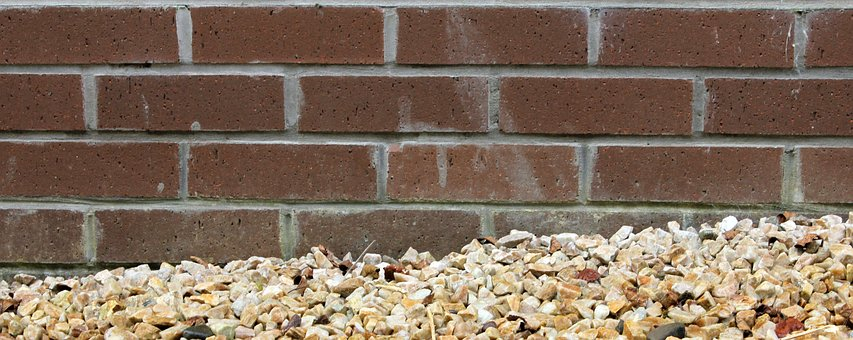 Wall, Mortar, Brick, Gravel, Masonry, Background