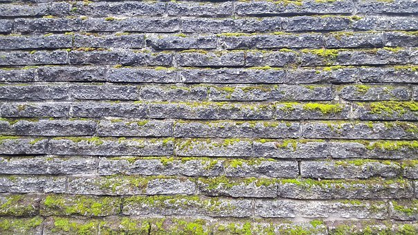 Texture, Wall, Brick, Stone, Moss, Aged, Brickwork