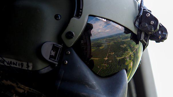 Soldier, Flight, Helicopter, Crew, People, Combat, Fly