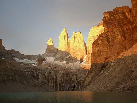 Torres Del Paine, Chile, Patagonia, Glacier, Nature