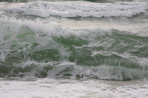 Sylt, Beach, North Sea, Sea, Holiday, Blue, Island