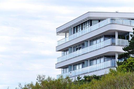 Modern House, Tourism, Municipal, Summer, Balcony