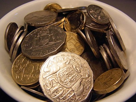 Australian Coins, Money, Cash, Currency, Silver, Gold