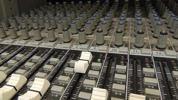 Panel, Sound, Music, Audio, Equipment, Technology