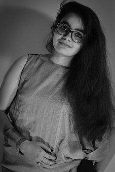 Eye, Specs, Hair, Darkroom