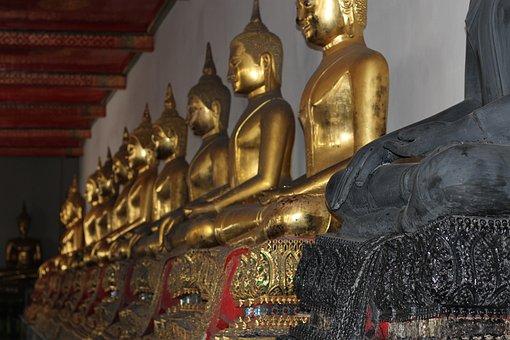 Wat, Temple, Bangkok, Thailand, Heritage, Worship