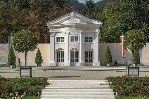 Villa, Park, Stairs, Garden, Luxury Garden, Flowers