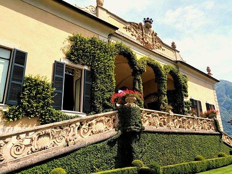 Loggia, Villa, Balbianello, Lenno, Como