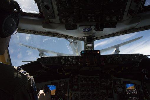 Cockpit, Avionics, Flight, Cargo, Aircraft, Aviation