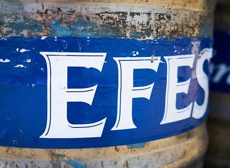 Efes, Beer, Barrel, The Drink, Alcohol, Turkey, Brand