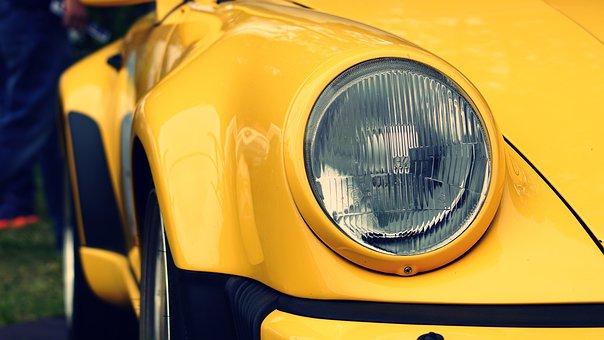 Relax, Hobby, Car, Porsche, Turbo, Oldtimer, Monument