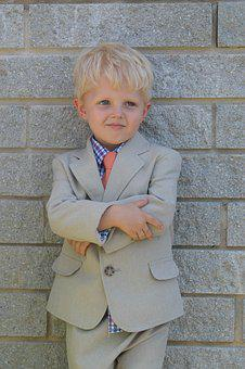Cute, Boy, Sunday Best, Handsome, Kid, Young, People