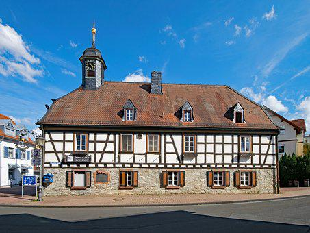 Old Town Hall, Kelkheim, Taunus, Hesse, Germany