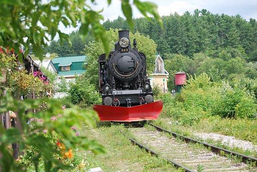 Train, Steam Train, Former, Track, Locomotive