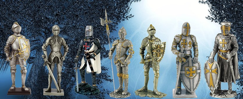 Knight, Middle Ages, Figurine, Armor