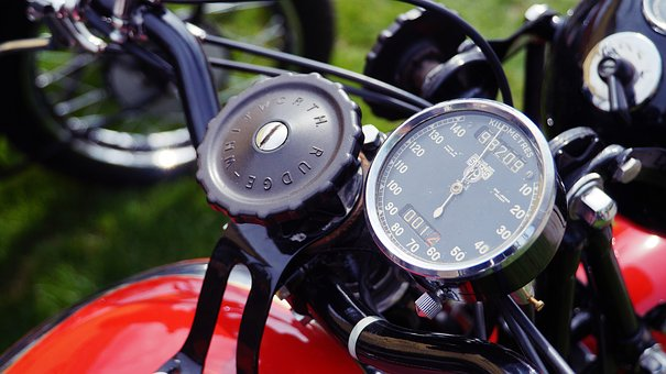 Motor, Motorcycle, Historic, A Motorcycle