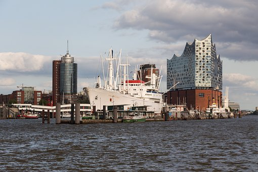 Hamburg, Skyline, Port City, Port, Hamburg Skyline
