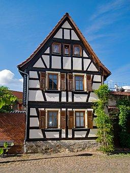 Kelkheim, Taunus, Hesse, Germany, Old Town
