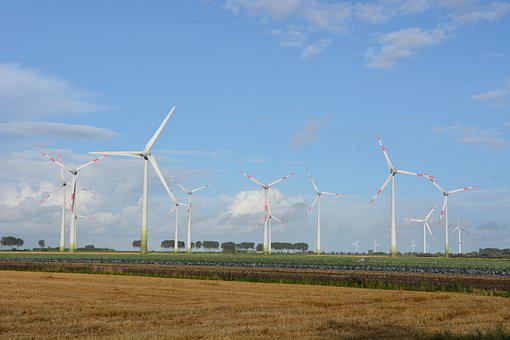Technology, Pinwheel, Sky, Wind Power, Wind Energy
