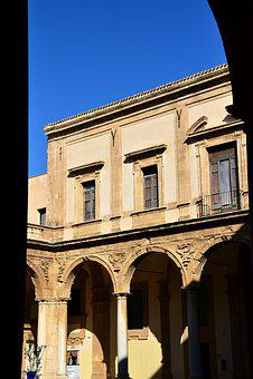 Arcade, Monastery, Architecture, Building, Historically