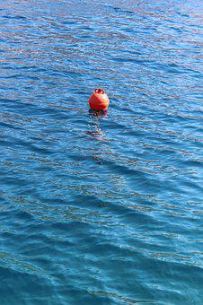 Buoy, Sea, Water, Ocean, Marine, Float, Nautical, Blue