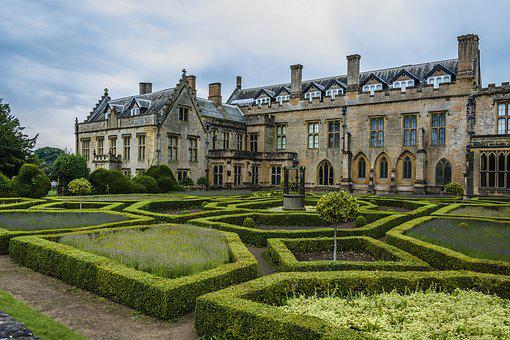Architecture, Building, Abbey, Garden, Old
