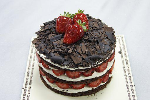 Strawberry, Chocolate, Pastry, Delicious, Fruit