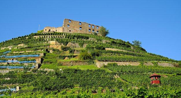 Castle, Staufen, Burgruine, Decay, Ruin, Old, Leave