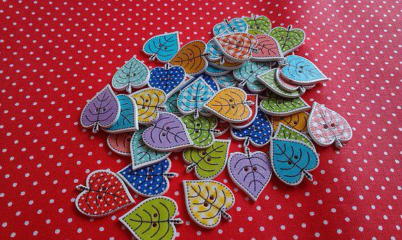 Buttons, Decoration, Colorful, Color, Design, Sewing