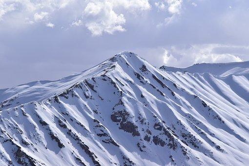 Mountains, Snow, Leh, Ladakh Mountain Range, Ice