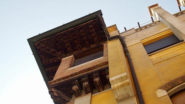 Venice, Gondola, Boats, Old Houses, Bowever, Canopy