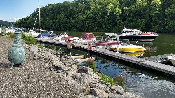 Boat, Lake, Water, Summer, Travel, Nature, Vacation