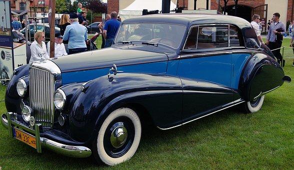 Rolls Royce, Retro, Car, Historically, Antique Auto