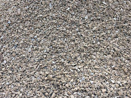 Stones, Crushed Stone, Gravel, Material, Texture, Hard