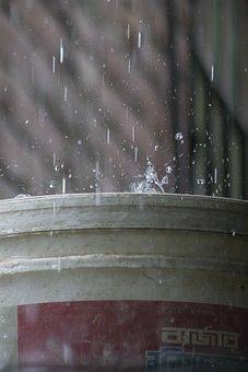 Water Drop, Rainy, Water, Drop, Nature, Weather, Dew