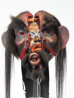 Documenta 14, Kassel, Double-mask, Shamanism, Artifact