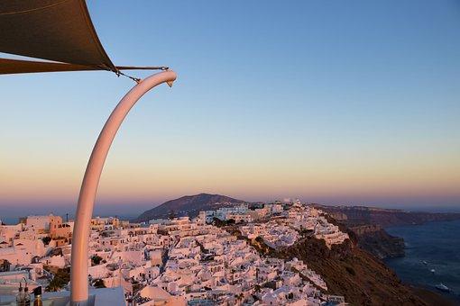 Santorini, Greece, Caldera, Landscape, Holiday, Tourism