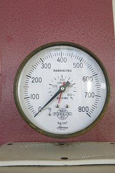 Pointer, Pressure Gauge, Kp Cm2