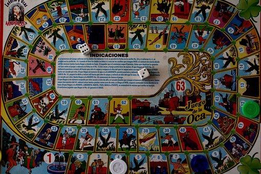 Game, Dice, Oca, Random, Good Luck, Records, Mexican
