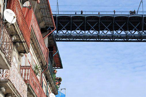 Porto, City, Portugal, Urban, Windows, Houses