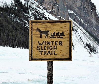 Transport, Sled, Sleetocht, Winter, Snow, Ice, Frozen