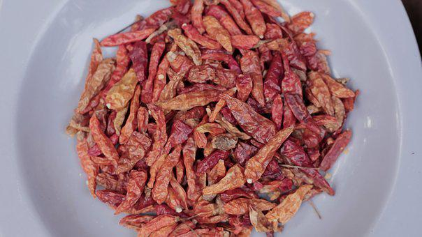 Chili, Pepper, Hot, Red, Spicy, Food, Fresh, Cooking