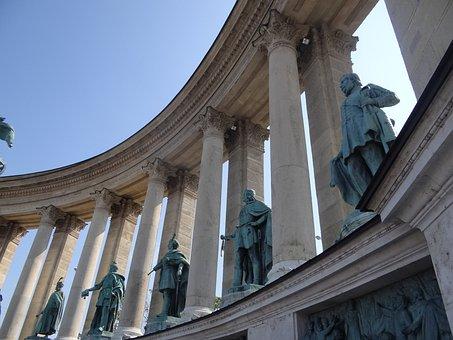 Budapest, Monument, Trip, Square, Tourist Attraction