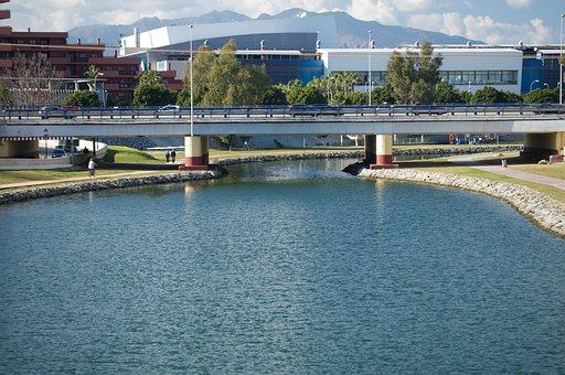 Bridge, Landscape, Spain, River, Travel, Nature, Water