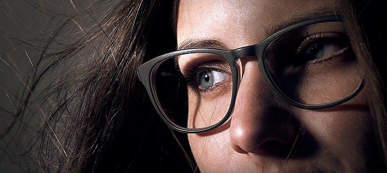 Portrait, Woman, Face, Glasses, Female, Beauty, Girl