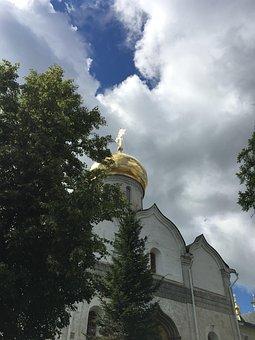 Temple, Sky, Church, Architecture, Religion, Russia