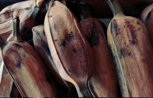 Food, Boiled, Banana, Cooked, Traditional, Vegetarian