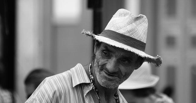 Black And White, Characters, People, Adults, Colombian